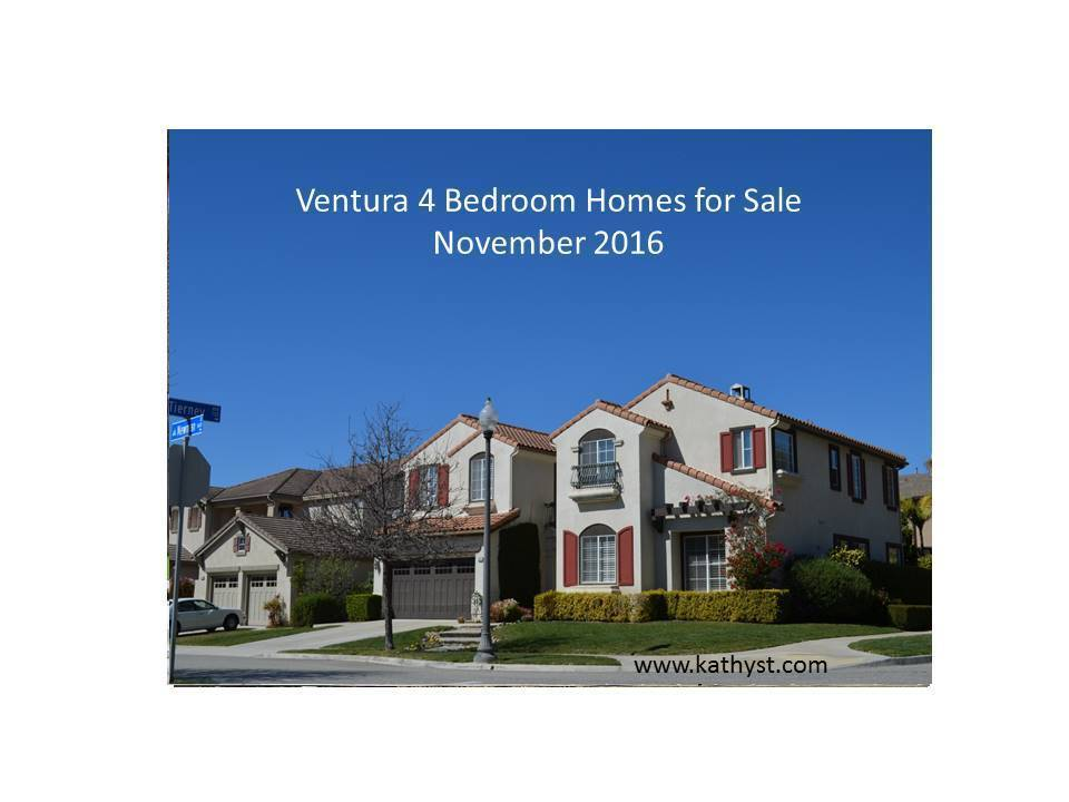 Ventura 4 bedroom homes november 2016 for 4 bedroom homes for sale